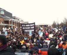 #ReclaimMLK March